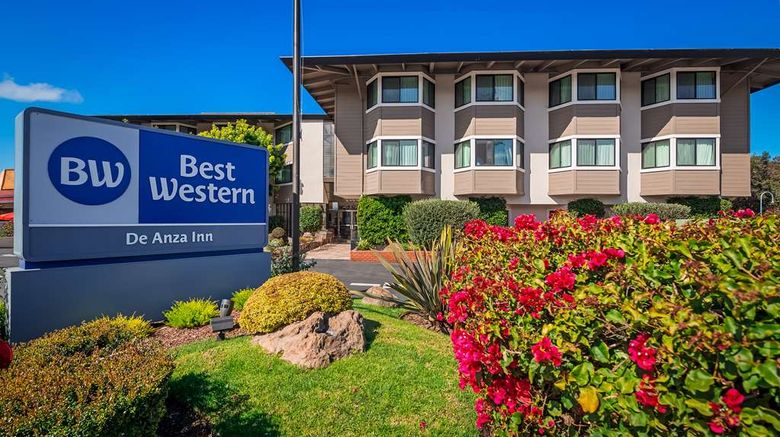 """Best Western De Anza Inn Exterior. Images powered by <a href=""""http://web.iceportal.com"""" target=""""_blank"""" rel=""""noopener"""">Ice Portal</a>."""