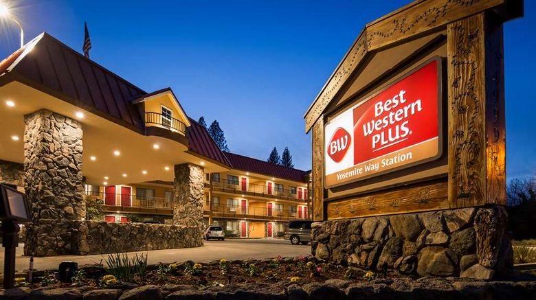 """Best Western Plus Yosemite Way Station Exterior. Images powered by <a href=""""http://web.iceportal.com"""" target=""""_blank"""" rel=""""noopener"""">Ice Portal</a>."""