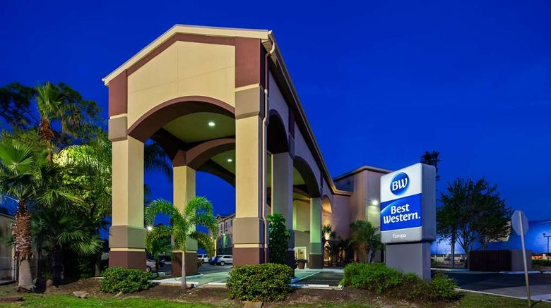 """Best Western Tampa Exterior. Images powered by <a href=""""http://web.iceportal.com"""" target=""""_blank"""" rel=""""noopener"""">Ice Portal</a>."""