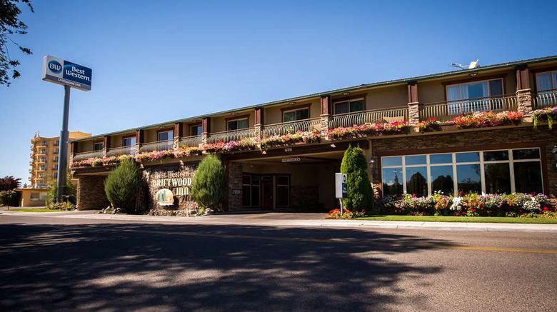 """Best Western Driftwood Inn Exterior. Images powered by <a href=""""http://web.iceportal.com"""" target=""""_blank"""" rel=""""noopener"""">Ice Portal</a>."""