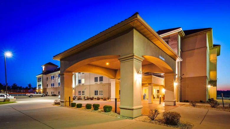 """Best Western Plus Mascoutah/SAFB Exterior. Images powered by <a href=""""http://web.iceportal.com"""" target=""""_blank"""" rel=""""noopener"""">Ice Portal</a>."""