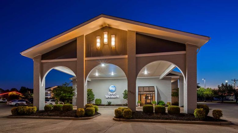 """Best Western University Inn Exterior. Images powered by <a href=""""http://web.iceportal.com"""" target=""""_blank"""" rel=""""noopener"""">Ice Portal</a>."""