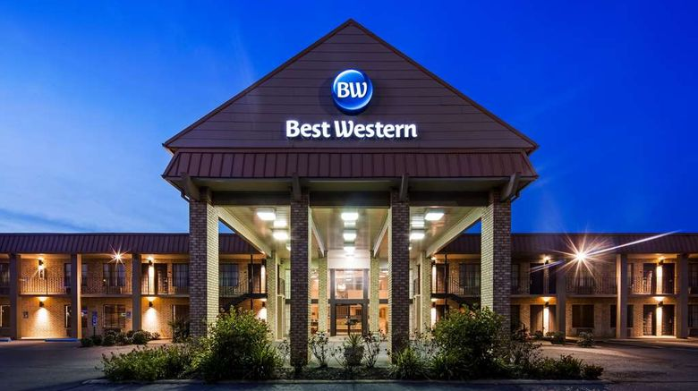 """Best Western Inn Suites  and  Conference Ctr Exterior. Images powered by <a href=""""http://web.iceportal.com"""" target=""""_blank"""" rel=""""noopener"""">Ice Portal</a>."""