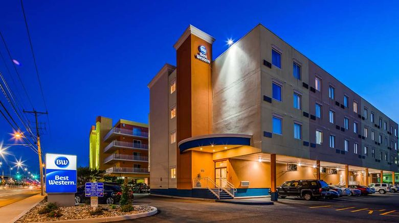 """Best Western Ocean City Hotel  and  Suites Exterior. Images powered by <a href=""""http://web.iceportal.com"""" target=""""_blank"""" rel=""""noopener"""">Ice Portal</a>."""