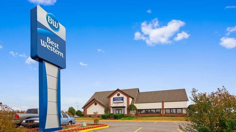 """Best Western Okmulgee Exterior. Images powered by <a href=""""http://web.iceportal.com"""" target=""""_blank"""" rel=""""noopener"""">Ice Portal</a>."""