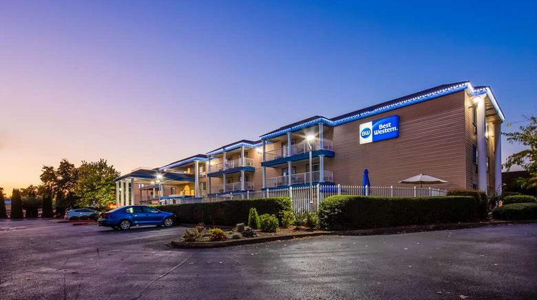 """Best Western Corvallis Exterior. Images powered by <a href=""""http://web.iceportal.com"""" target=""""_blank"""" rel=""""noopener"""">Ice Portal</a>."""