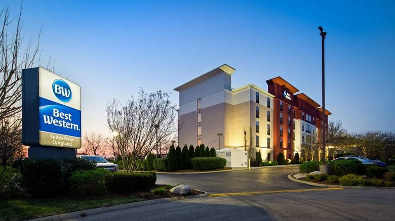 """Best Western Suites near Opryland Exterior. Images powered by <a href=""""http://web.iceportal.com"""" target=""""_blank"""" rel=""""noopener"""">Ice Portal</a>."""