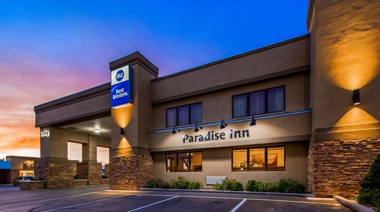 """Best Western Paradise Inn Exterior. Images powered by <a href=""""http://web.iceportal.com"""" target=""""_blank"""" rel=""""noopener"""">Ice Portal</a>."""
