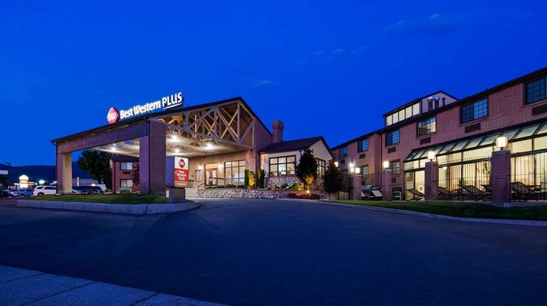 """Best Western Plus CottonTree Inn Exterior. Images powered by <a href=""""http://web.iceportal.com"""" target=""""_blank"""" rel=""""noopener"""">Ice Portal</a>."""