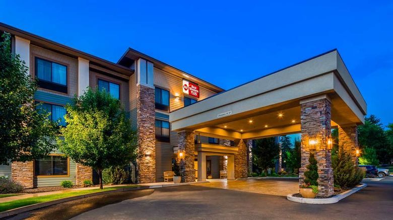 """Best Western Plus Dayton Hotel  and  Suites Exterior. Images powered by <a href=""""http://web.iceportal.com"""" target=""""_blank"""" rel=""""noopener"""">Ice Portal</a>."""