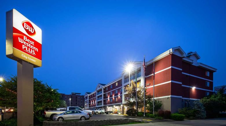 """Best Western Plus City Center Exterior. Images powered by <a href=""""http://web.iceportal.com"""" target=""""_blank"""" rel=""""noopener"""">Ice Portal</a>."""
