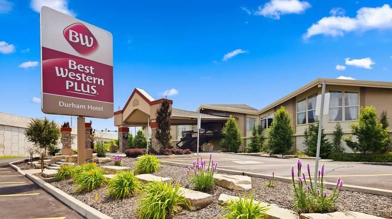 """Best Western Plus Durham Htl  and  Conf Ctr Exterior. Images powered by <a href=""""http://web.iceportal.com"""" target=""""_blank"""" rel=""""noopener"""">Ice Portal</a>."""