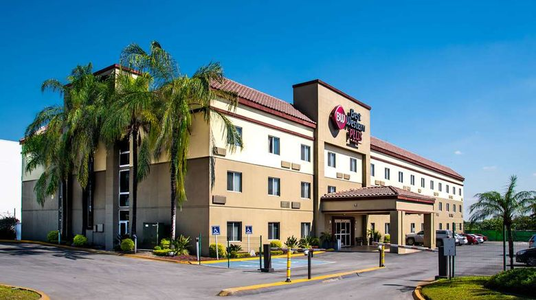 """Best Western Plus Monterrey Airport Exterior. Images powered by <a href=""""http://web.iceportal.com"""" target=""""_blank"""" rel=""""noopener"""">Ice Portal</a>."""
