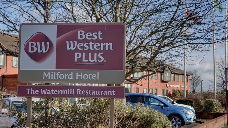 """Best Western Plus Milford Hotel Exterior. Images powered by <a href=""""http://web.iceportal.com"""" target=""""_blank"""" rel=""""noopener"""">Ice Portal</a>."""