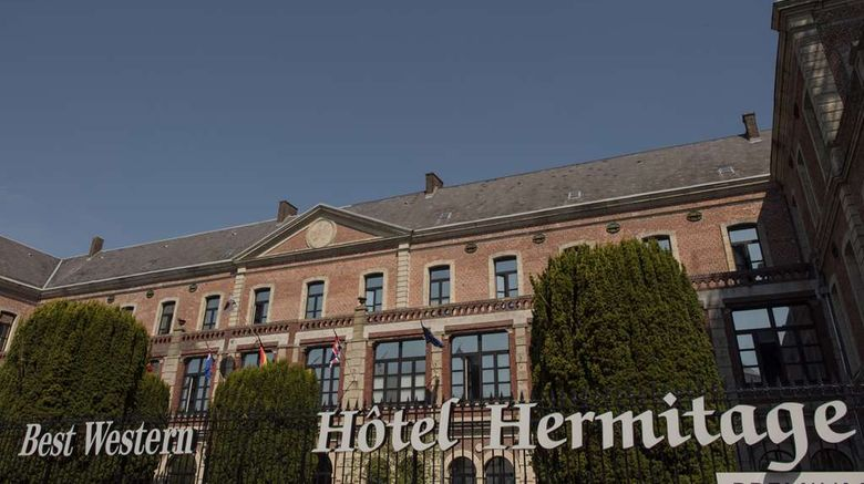 """Best Western Hotel Hermitage Exterior. Images powered by <a href=""""http://web.iceportal.com"""" target=""""_blank"""" rel=""""noopener"""">Ice Portal</a>."""