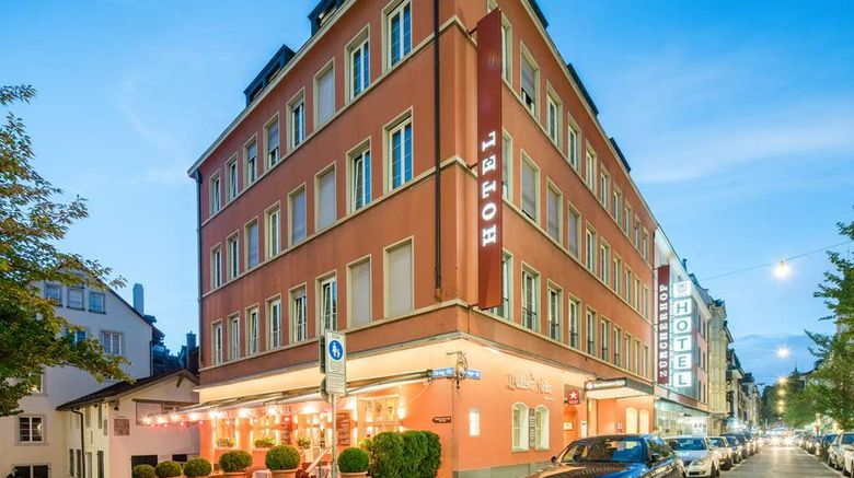 """Best Western Plus Hotel Zuercherhof Exterior. Images powered by <a href=""""http://web.iceportal.com"""" target=""""_blank"""" rel=""""noopener"""">Ice Portal</a>."""
