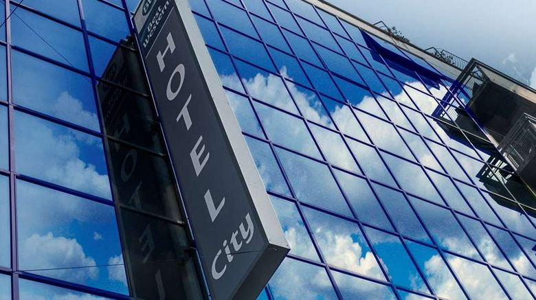 """Best Western Hotel City Exterior. Images powered by <a href=""""http://web.iceportal.com"""" target=""""_blank"""" rel=""""noopener"""">Ice Portal</a>."""