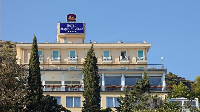 """Best Western Hotel Acqua Novella Exterior. Images powered by <a href=""""http://web.iceportal.com"""" target=""""_blank"""" rel=""""noopener"""">Ice Portal</a>."""