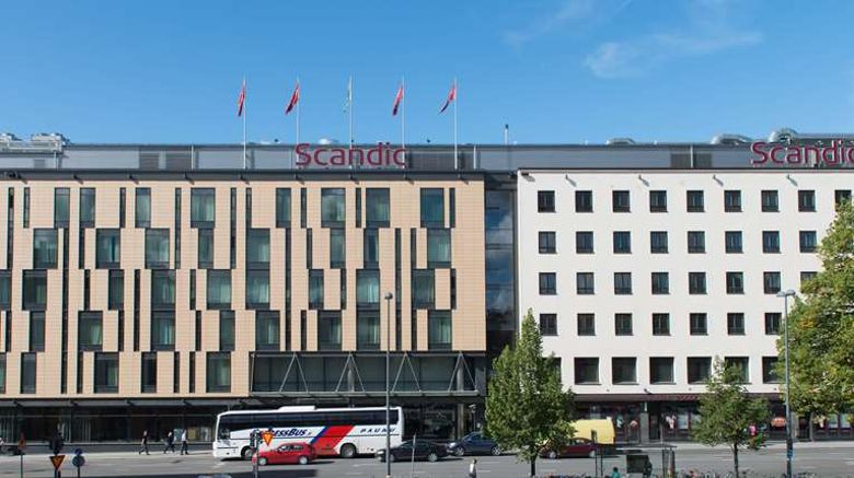 """Scandic Hotel Tampere Exterior. Images powered by <a href=""""http://web.iceportal.com"""" target=""""_blank"""" rel=""""noopener"""">Ice Portal</a>."""