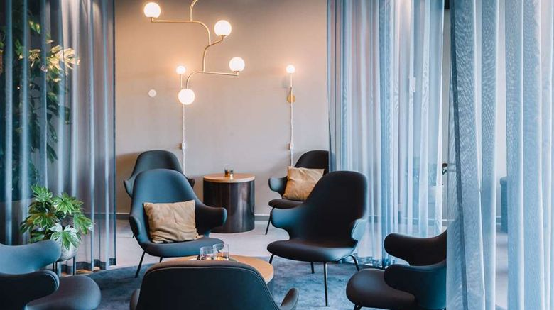 """<b>Scandic Hotel Opalen Lobby</b>. Images powered by <a href=""""https://iceportal.shijigroup.com/"""" title=""""IcePortal"""" target=""""_blank"""">IcePortal</a>."""