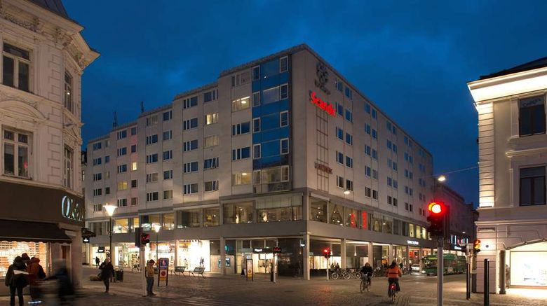 """Scandic Hotel St Jorgen Exterior. Images powered by <a href=""""http://web.iceportal.com"""" target=""""_blank"""" rel=""""noopener"""">Ice Portal</a>."""