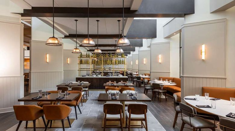 "<b>Hyatt Regency Houston Restaurant</b>. Images powered by <a href=""https://iceportal.shijigroup.com/"" title=""IcePortal"" target=""_blank"">IcePortal</a>."