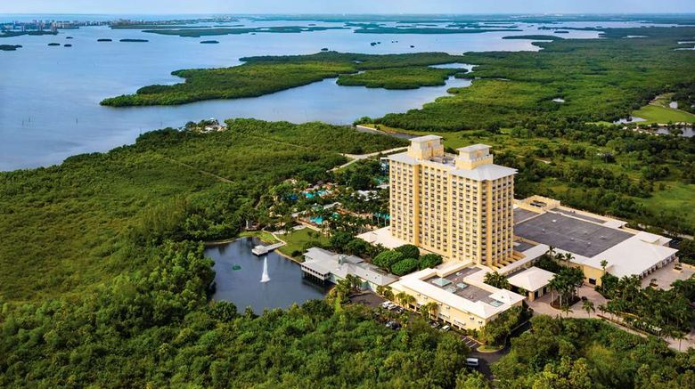 """Hyatt Regency Coconut Point Resort  and  Spa Exterior. Images powered by <a href=""""http://web.iceportal.com"""" target=""""_blank"""" rel=""""noopener"""">Ice Portal</a>."""