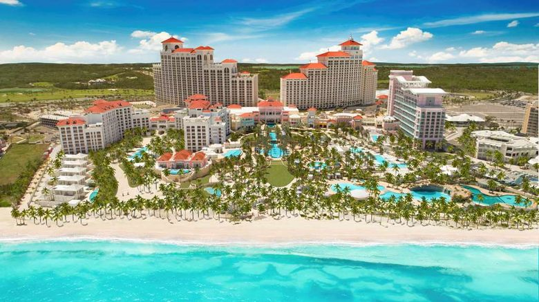 """Grand Hyatt Baha Mar Exterior. Images powered by <a href=""""http://web.iceportal.com"""" target=""""_blank"""" rel=""""noopener"""">Ice Portal</a>."""