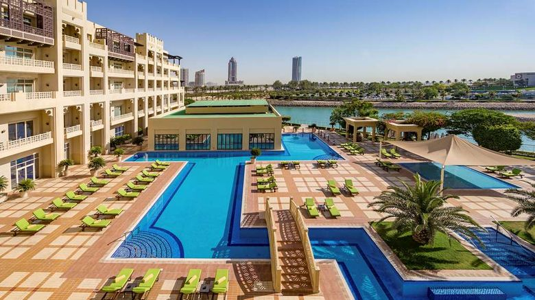 """Grand Hyatt Doha Hotel  and  Villas Exterior. Images powered by <a href=""""http://web.iceportal.com"""" target=""""_blank"""" rel=""""noopener"""">Ice Portal</a>."""