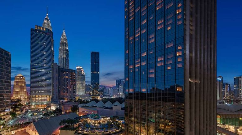 """Grand Hyatt Kuala Lumpur Exterior. Images powered by <a href=""""http://web.iceportal.com"""" target=""""_blank"""" rel=""""noopener"""">Ice Portal</a>."""