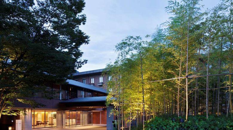 "Hyatt Regency Kyoto Exterior. Images powered by <a href=""http://web.iceportal.com"" target=""_blank"" rel=""noopener"">Ice Portal</a>."