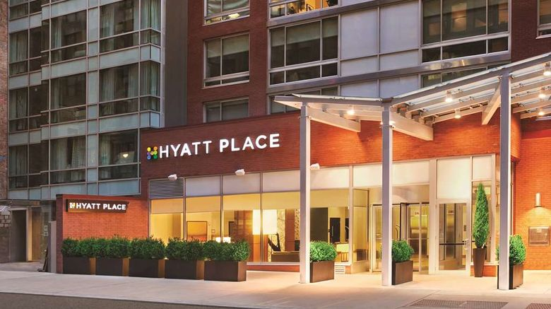 """Hyatt Place New York/Midtown-South Exterior. Images powered by <a href=""""http://web.iceportal.com"""" target=""""_blank"""" rel=""""noopener"""">Ice Portal</a>."""