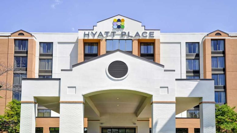"""Hyatt Place Orlando Airport Exterior. Images powered by <a href=""""http://web.iceportal.com"""" target=""""_blank"""" rel=""""noopener"""">Ice Portal</a>."""