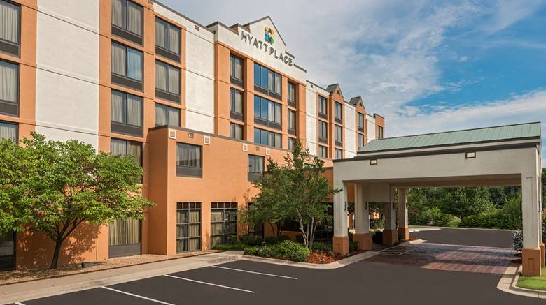 """Hyatt Place Rogers Bentonville Exterior. Images powered by <a href=""""http://web.iceportal.com"""" target=""""_blank"""" rel=""""noopener"""">Ice Portal</a>."""
