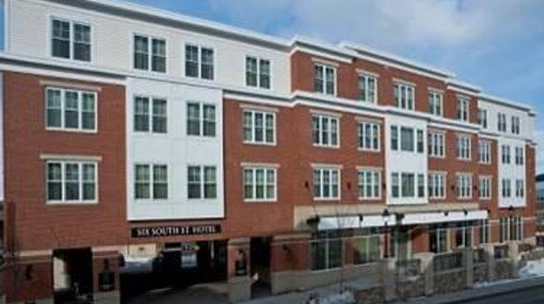 """Six South Street Hotel Exterior. Images powered by <a href=""""http://web.iceportal.com"""" target=""""_blank"""" rel=""""noopener"""">Ice Portal</a>."""