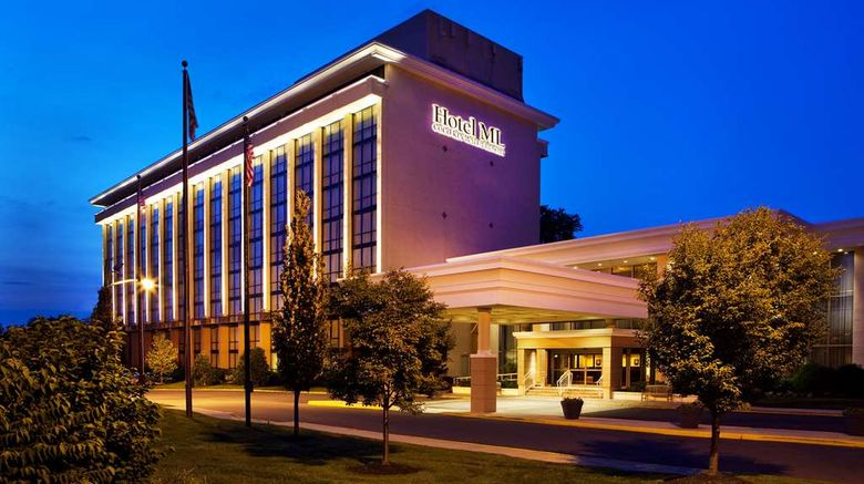"""Hotel ML  and  Conference Center Exterior. Images powered by <a href=""""http://web.iceportal.com"""" target=""""_blank"""" rel=""""noopener"""">Ice Portal</a>."""