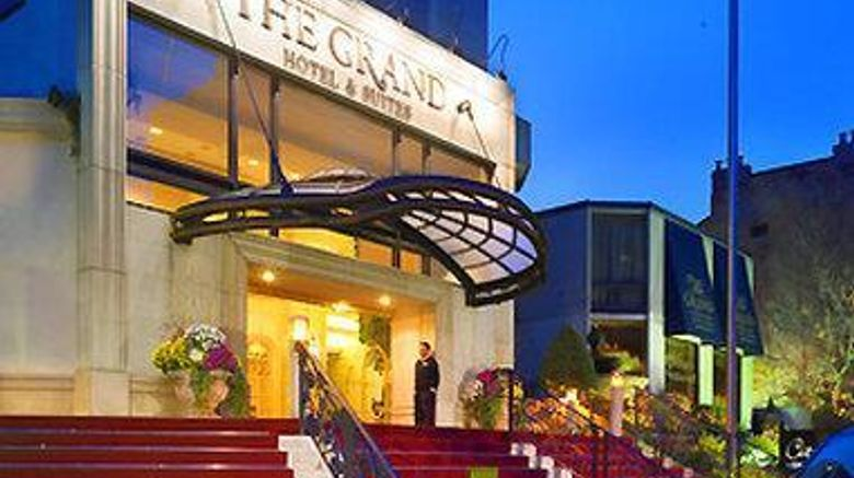 """Grand Hotel  and  Suites Toronto Exterior. Images powered by <a href=""""http://web.iceportal.com"""" target=""""_blank"""" rel=""""noopener"""">Ice Portal</a>."""