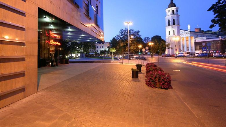 """Amberton Hotel Vilnius Exterior. Images powered by <a href=""""http://web.iceportal.com"""" target=""""_blank"""" rel=""""noopener"""">Ice Portal</a>."""