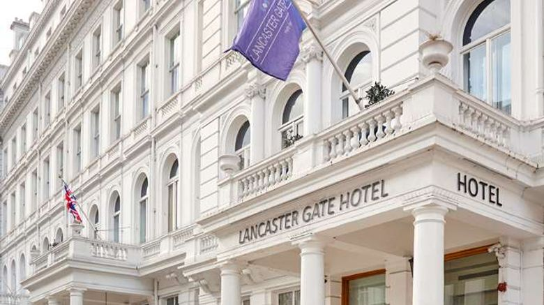 """Lancaster Gate Hotel Exterior. Images powered by <a href=""""http://web.iceportal.com"""" target=""""_blank"""" rel=""""noopener"""">Ice Portal</a>."""