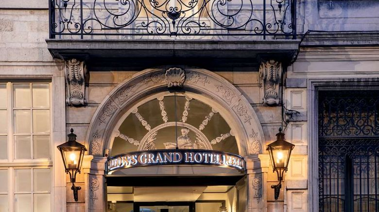 """Pillows Grand Hotel Reylof Exterior. Images powered by <a href=""""http://web.iceportal.com"""" target=""""_blank"""" rel=""""noopener"""">Ice Portal</a>."""