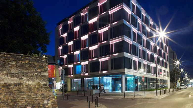 """PURO Hotel Krakow Exterior. Images powered by <a href=""""http://web.iceportal.com"""" target=""""_blank"""" rel=""""noopener"""">Ice Portal</a>."""