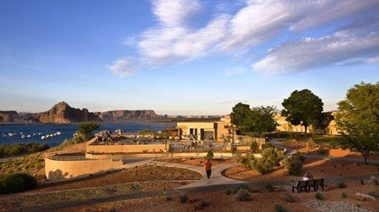 """Lake Powell Resorts  and  Marinas Exterior. Images powered by <a href=""""http://web.iceportal.com"""" target=""""_blank"""" rel=""""noopener"""">Ice Portal</a>."""