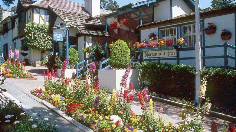 """Normandy Inn Exterior. Images powered by <a href=""""http://web.iceportal.com"""" target=""""_blank"""" rel=""""noopener"""">Ice Portal</a>."""