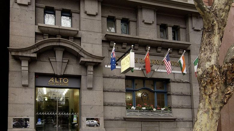 """Alto Hotel on Bourke Exterior. Images powered by <a href=""""http://web.iceportal.com"""" target=""""_blank"""" rel=""""noopener"""">Ice Portal</a>."""
