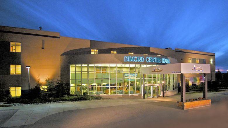 """Dimond Center Hotel Exterior. Images powered by <a href=""""http://web.iceportal.com"""" target=""""_blank"""" rel=""""noopener"""">Ice Portal</a>."""