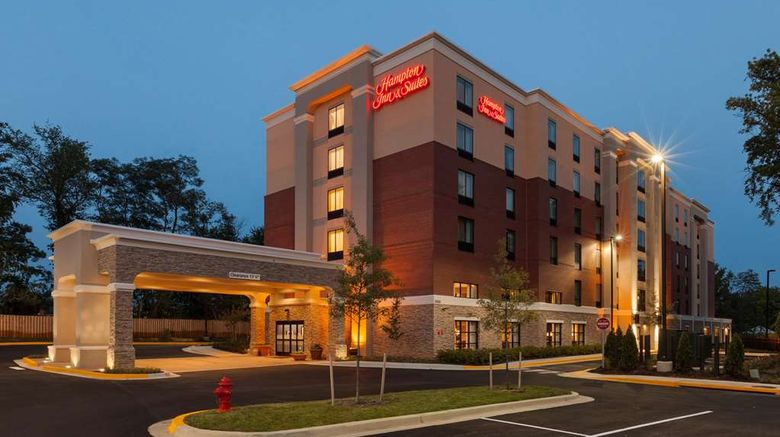 """Hampton Inn  and  Suites, Camp Springs Exterior. Images powered by <a href=""""http://web.iceportal.com"""" target=""""_blank"""" rel=""""noopener"""">Ice Portal</a>."""