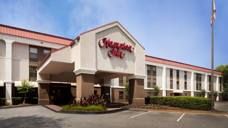 """Hampton Inn Lawrenceville Exterior. Images powered by <a href=""""http://web.iceportal.com"""" target=""""_blank"""" rel=""""noopener"""">Ice Portal</a>."""