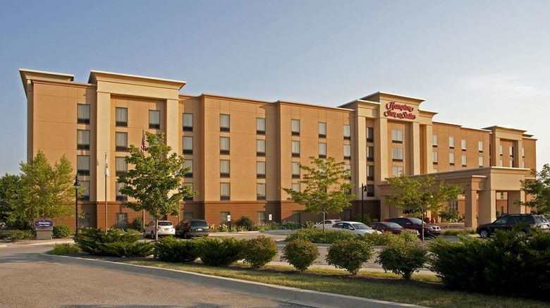 """Hampton Inn  and  Suites Bloomington-Normal Exterior. Images powered by <a href=""""http://web.iceportal.com"""" target=""""_blank"""" rel=""""noopener"""">Ice Portal</a>."""