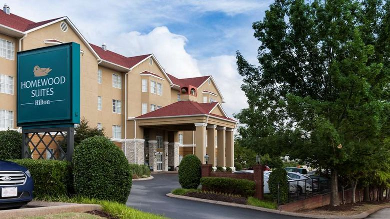 """Homewood Suites by Hilton Chattanooga Exterior. Images powered by <a href=""""http://web.iceportal.com"""" target=""""_blank"""" rel=""""noopener"""">Ice Portal</a>."""