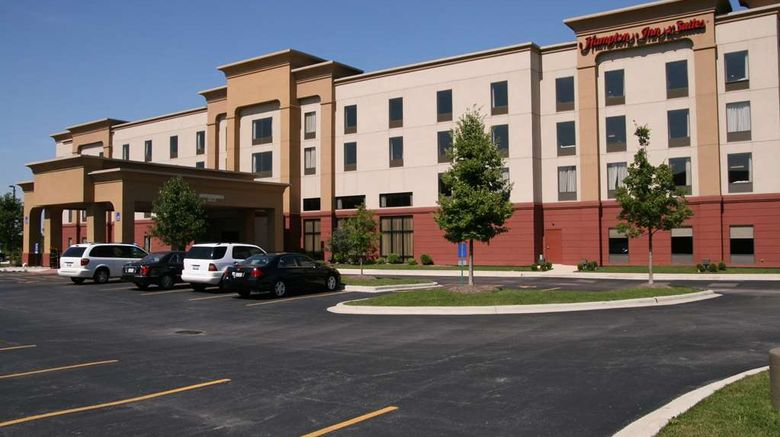 """Hampton Inn  and  Suites Bolingbrook Exterior. Images powered by <a href=""""http://web.iceportal.com"""" target=""""_blank"""" rel=""""noopener"""">Ice Portal</a>."""